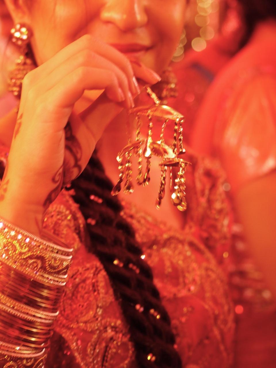Shadi sparkles. New Delhi.