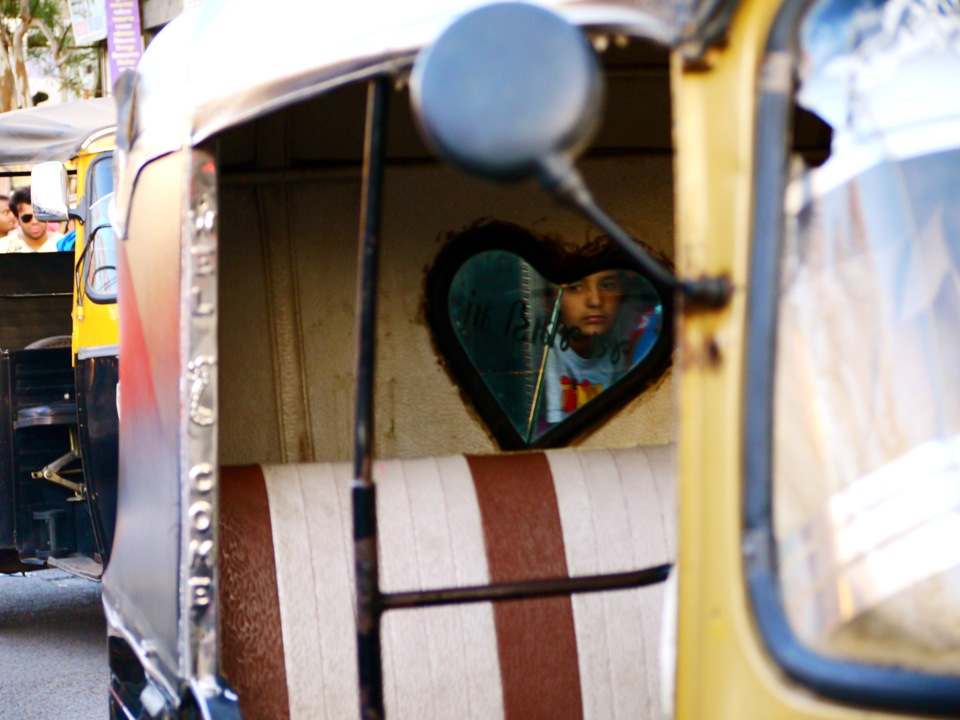 The heart of a rickshaw. Bhuj.
